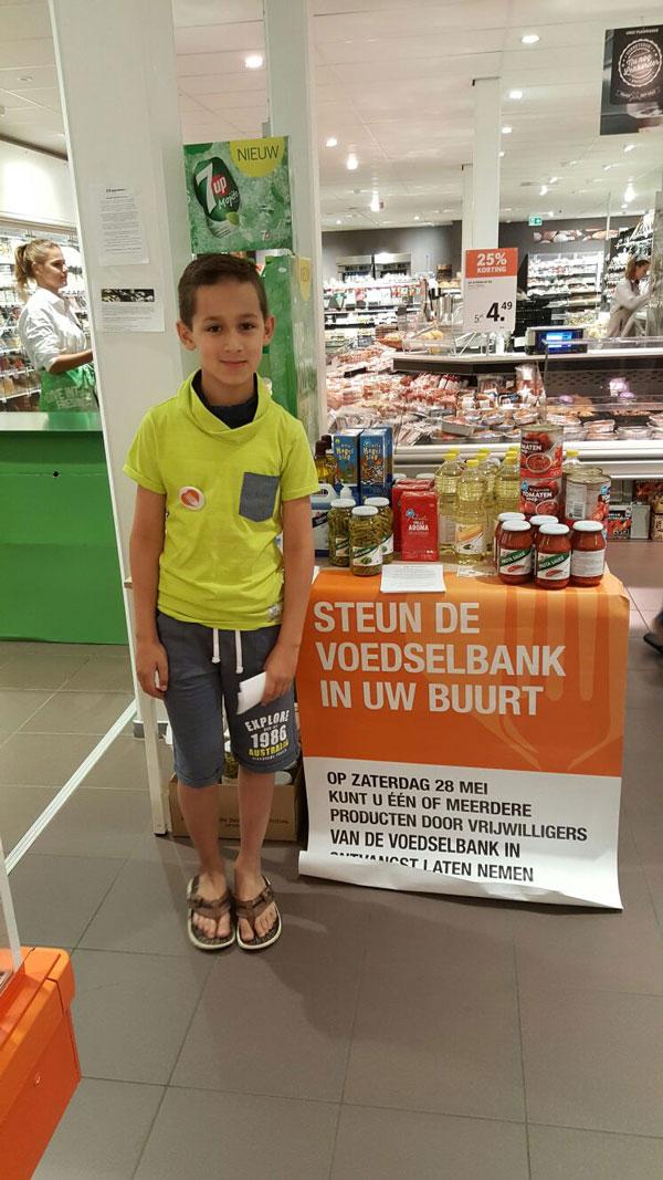 Voedselbank-vrijwilliger